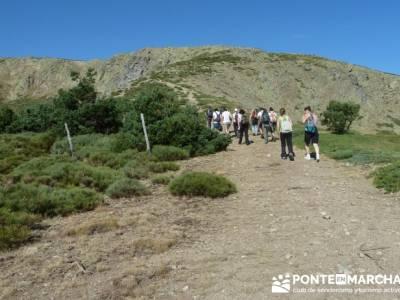 Ascensión Pico del Nevero - montañismo y trekking Madrid; rutas a pie por madrid